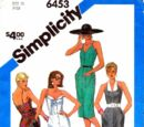 Simplicity 6453 B