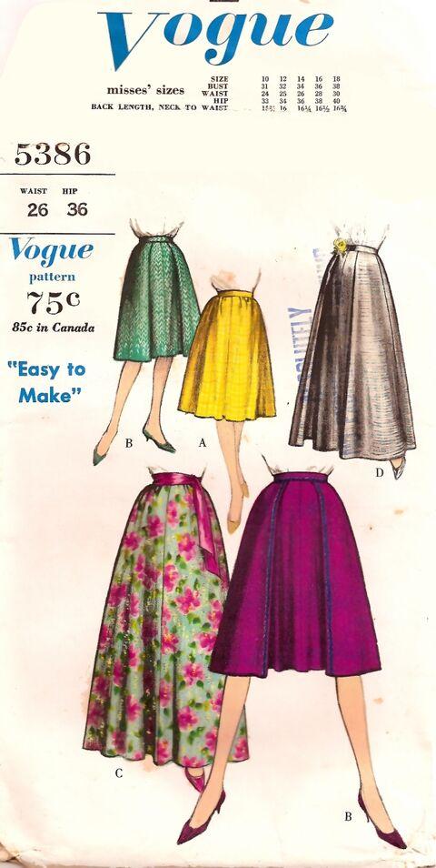 Vogue5386 skirt f