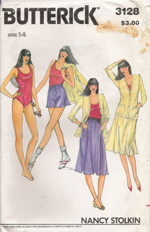 Butterick 3128 A image