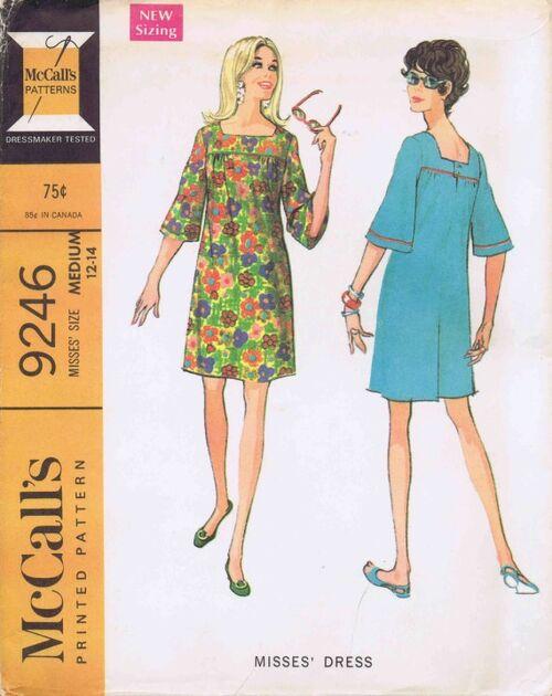 McCalls 1968 9246