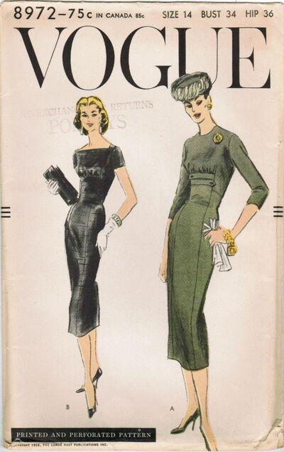 Vogue 8972 A image