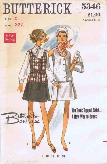Butterick 1969 5346