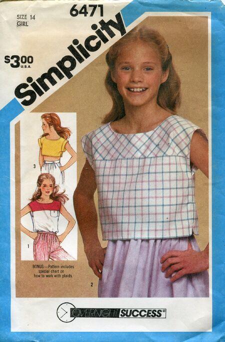 Simplicity6471girls