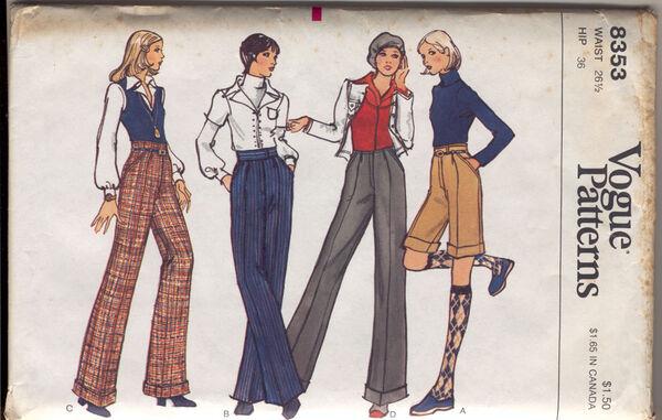 Vogue 8353 a 74