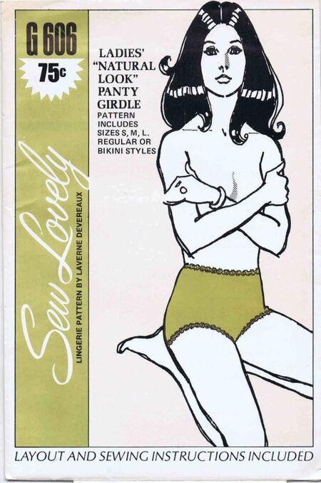 Sew Lovely 1970 G606
