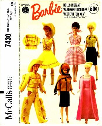 McCalls 1964 7430