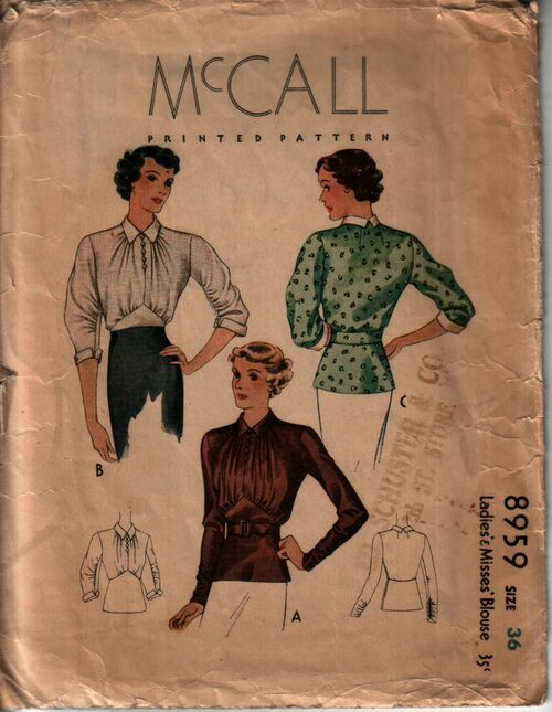 Mccall 8959 front