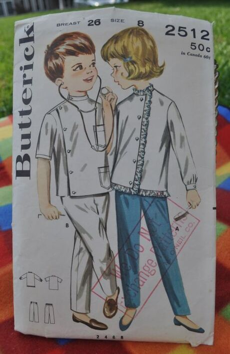 Butterick doctors costume 2512