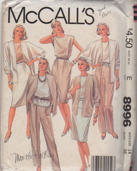 McCalls 8996
