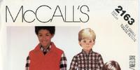 McCall's 2163 B