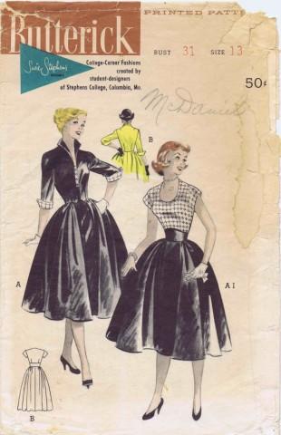 Butterick 1953 6459