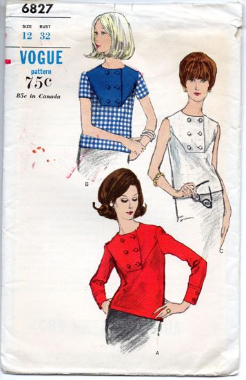 Vogue 6827