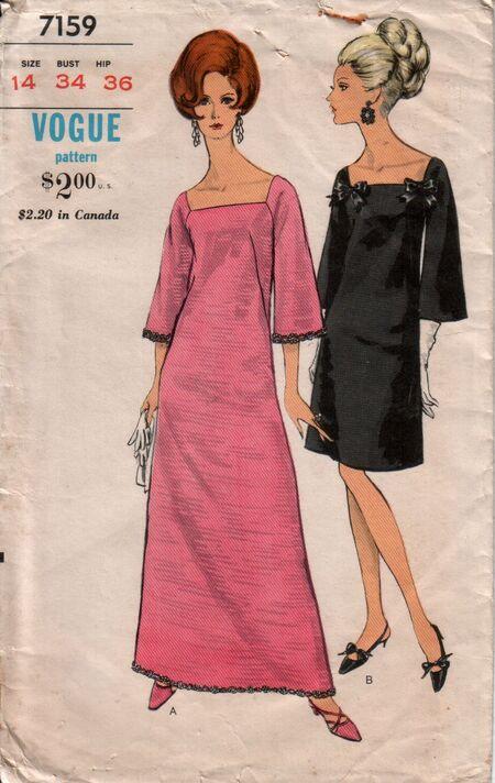 Vogue 7159 front