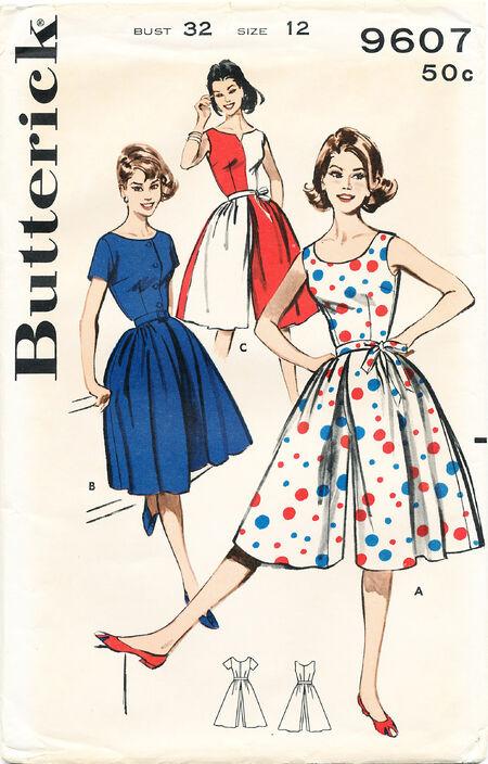 Butterick 9607