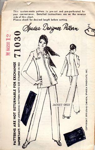 Spadea Designer Pattern 71030
