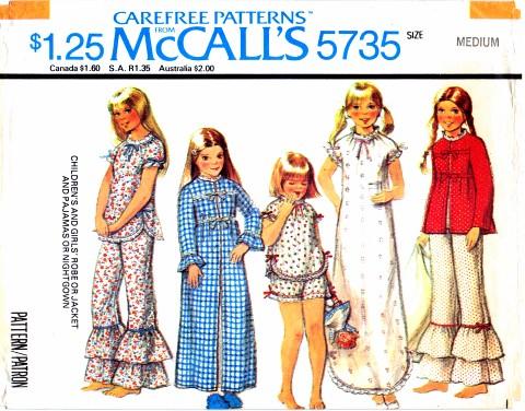 McCalls 1977 5735