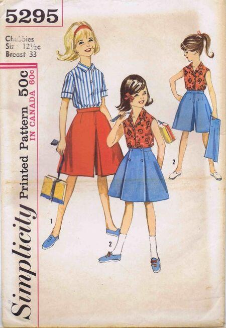 Simplicity 1963 5295