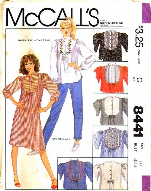 McCalls 1983 8441