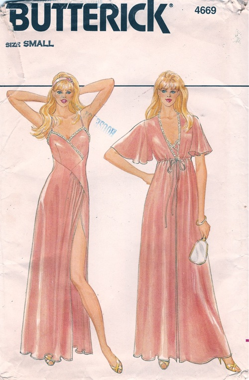 Misses nighty and dressing gown sizes 6 - 10