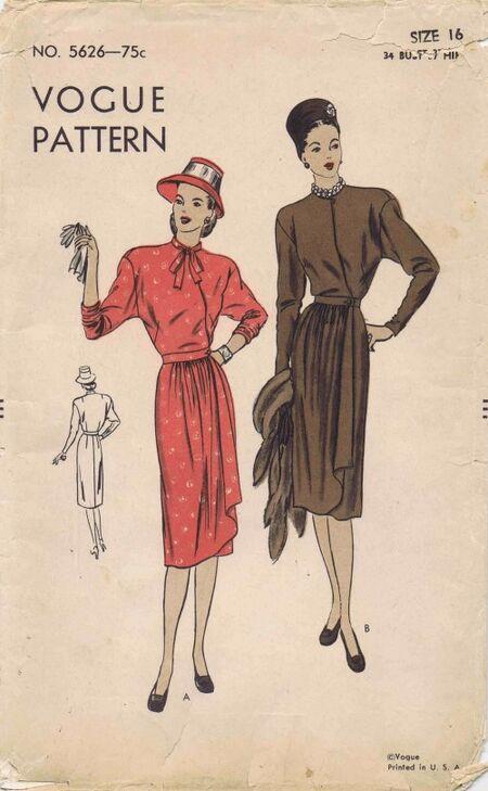 Vogue 1946 5626