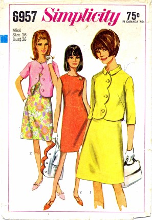 Simplicity 1967 6957