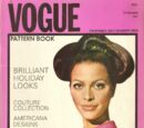 Vogue Pattern Book December 1967/January 1968