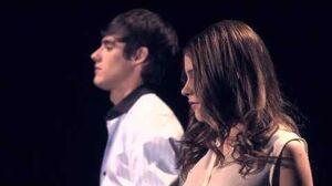 Violetta,Tomás y León cantando Voy Por Ti
