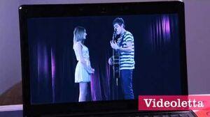 "Violetta 2 English - Leon sings ""More tears"" to Violetta Ep"