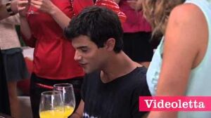 """Violetta 2 English - Vilu and Diego singing """"Be mine"""" Ep"""