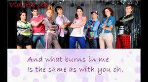 Violetta- Always Dancing (Lyrics Video)
