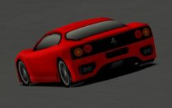 Ferrari 360 Modena rear preview