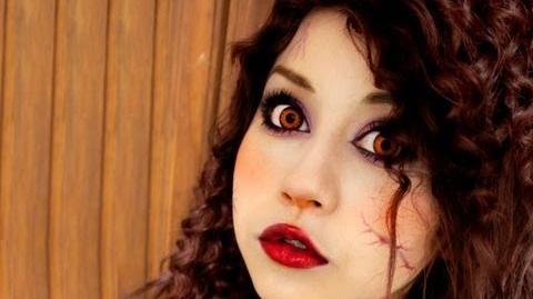Maquillaje de vampira ♥ Miku vampire makeup