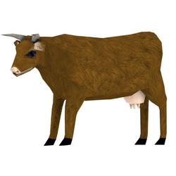 Cow skin brown preview