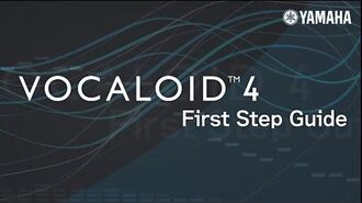 VOCALOID4 First Step Guide