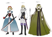 AkaToShiro CharactersConcept