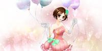 Dreamy Cyber Girl