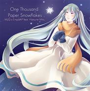 One Thousand Paper Snowflakes single