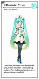 X module ultimate miku