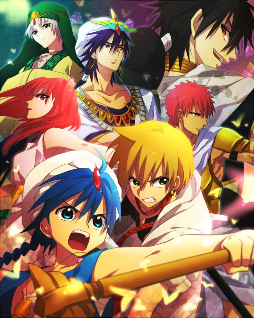 magi the labyrinth of magic anime voice over wiki. Black Bedroom Furniture Sets. Home Design Ideas