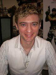Crispin Freeman at Super-Con 2009 1