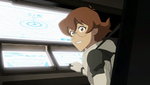 10. Pidge at training shuttle controls