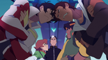 165. Keith Lance butting heads while Pidge Hunk glare