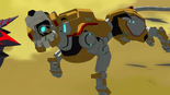 193. Yellow Lion bite attack