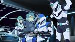 Shiro, Pidge and Lance with Slav