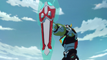 76. Voltron's wing shield