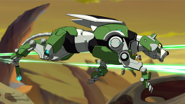 Green Lion Voltron Image - 27. Green Lion...