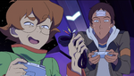 Pidge and Lance are Puzzled