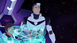 30. Shiro next to Lance at his controls
