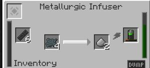 Metallurgic Infuser Interface
