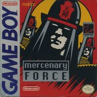 Mercenary Force GB cover